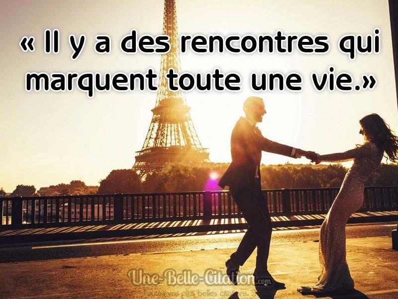 «Il y a des rencontres qui marquent toute une vie.»